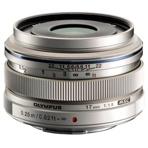 Olympus M. Zuiko 17mm ED f1.8 Silver