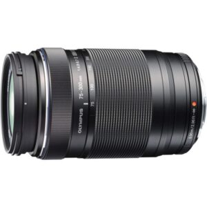 Olympus M.ZUIKO DIGITAL ED 75-300mm f/4.8-6.7 II Lens Black