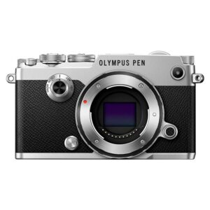 Olympus PEN-F Mirrorless Digital Camera (Body Only, Silver)