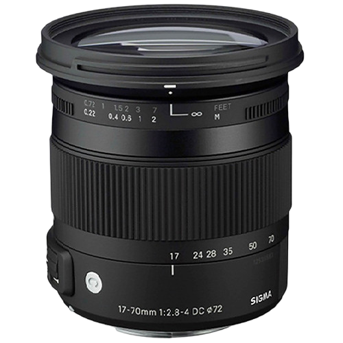Sigma 17-70mm f/2.8-4 DC Macro OS HSM Contemporary Lens