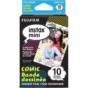 Fujifilm Instax Mini Instant Film - Comic (10 Shots)