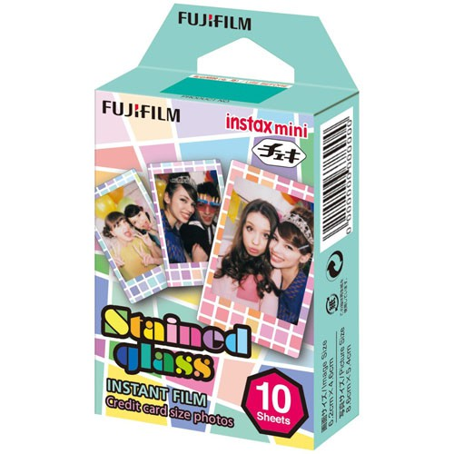Fujifilm Instax Mini Instant Film - Stained Glass (10 Shots)