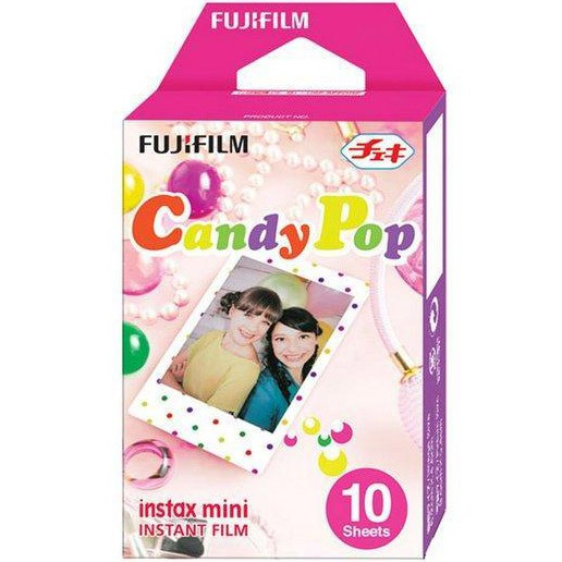 Fujifilm Instax Mini Instant Film - Candy Pop (10 Shots)