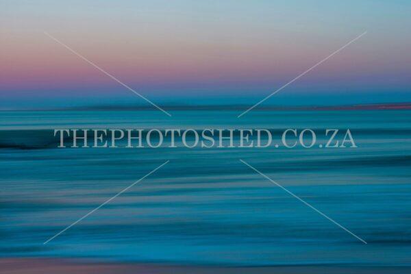 Langebaan Blur Seascape