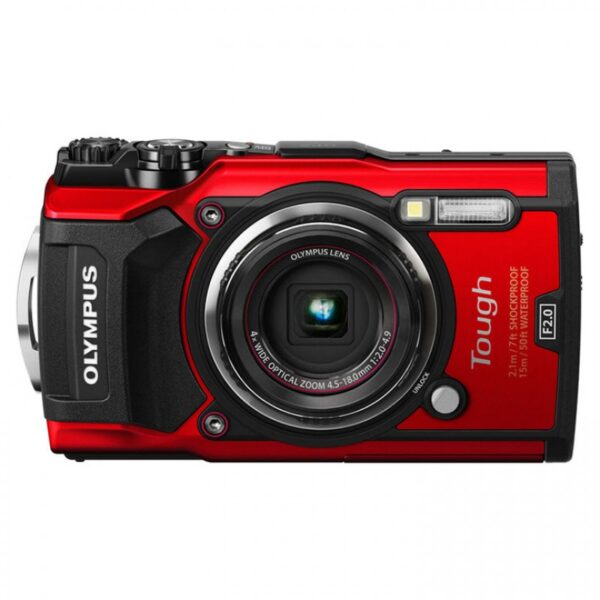 Olympus Stylus TOUGH TG-5 Digital Camera (Red)