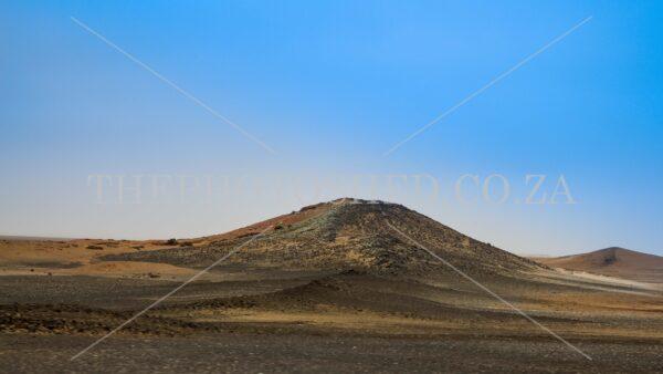 Desert Landscape. Dorob National Park. Dune-like
