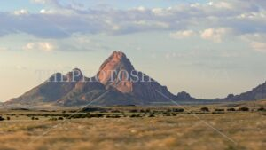 Spitzkoppe Namibia. Dessert. Tourist attraction. Road less travelled