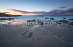 Sunrise at Kwaaiwater, Hermanus,Western Cape Beach