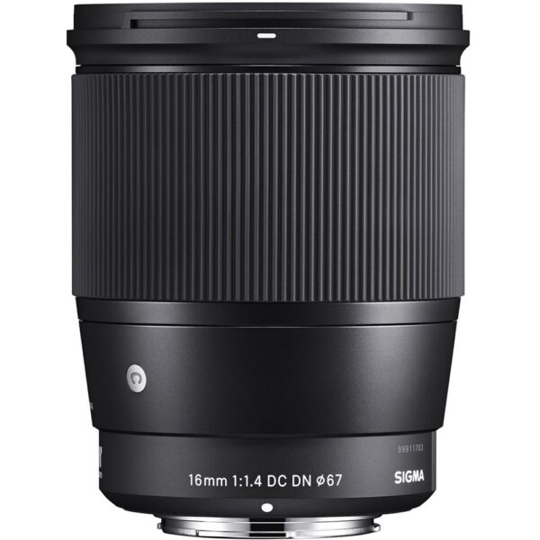 Sigma 16mm f/1.4 DC DN Contemporary Lens (MFT)