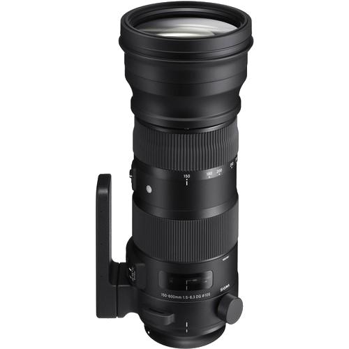 Sigma 150-600mm f/5-6.3 DG OS HSM Sport Lens