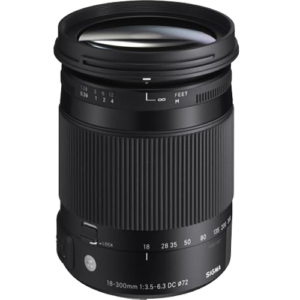 Sigma 18-300mm f/3.5-6.3 DC MACRO OS HSM Contemporary Lens