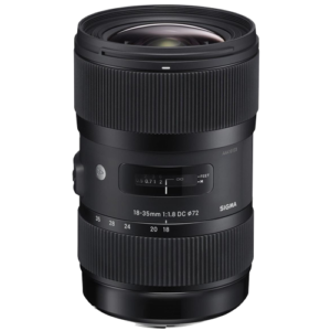 Sigma 18-35mm f1.8 DC HSM Art Lens