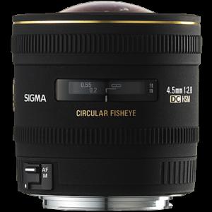 Sigma 4.5mm f/2.8 EX DC HSM Circular Fisheye Lens (Nikon F)