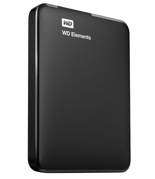 WD Elements 2.5 Inch Portable Hard Drive - 1TB - Black