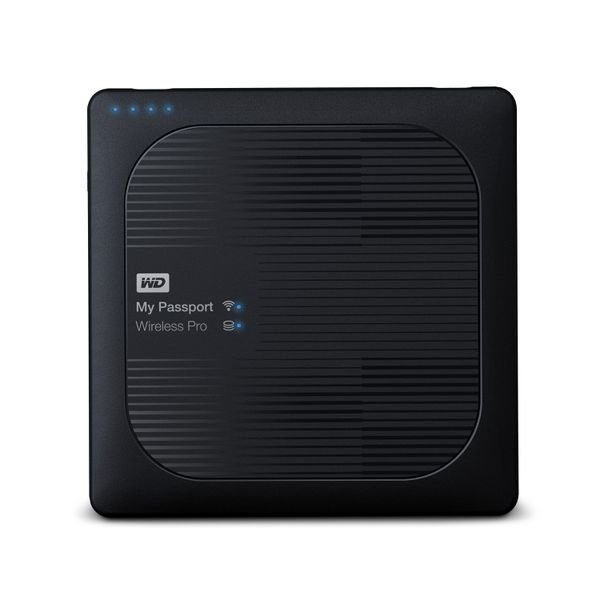 WD My Passport Wireless PRO 1TB Hardrive - Black