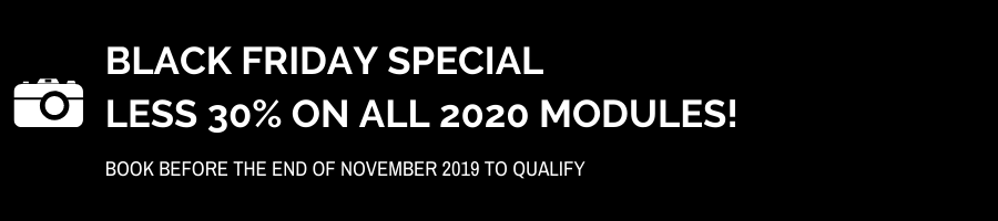 Black Friday Special on all 2020 modules