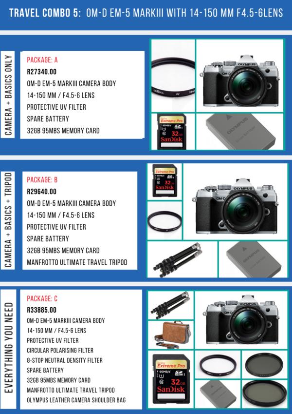 camera travel combo 5